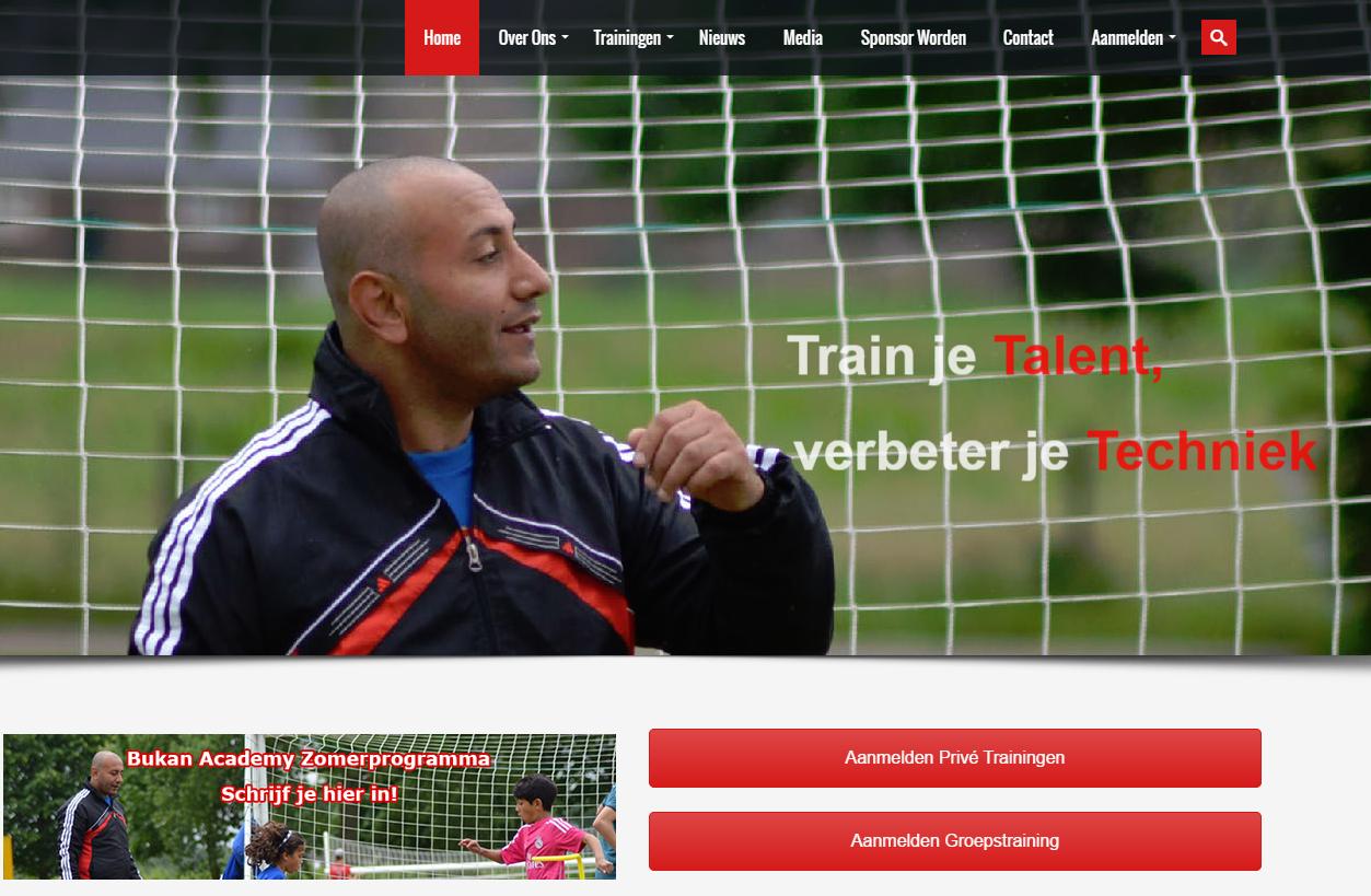 Bukan Academy (Online) Opent Voetbalacademie in Tilburg